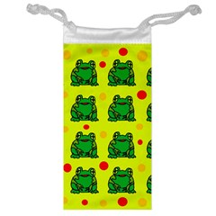 Green frogs Jewelry Bags