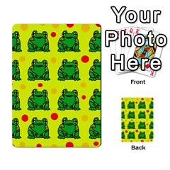 Green frogs Multi-purpose Cards (Rectangle)