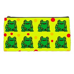 Green frogs Pencil Cases