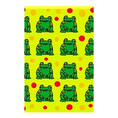 Green frogs Shower Curtain 48  x 72  (Small)