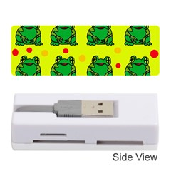 Green frogs Memory Card Reader (Stick)