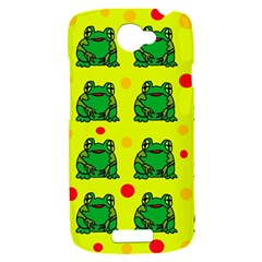 Green frogs HTC One S Hardshell Case