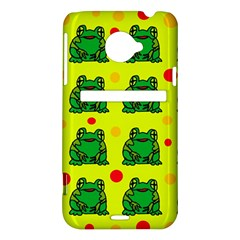 Green frogs HTC Evo 4G LTE Hardshell Case