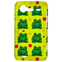 Green frogs HTC Incredible S Hardshell Case