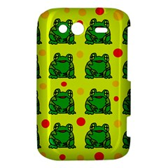 Green frogs HTC Wildfire S A510e Hardshell Case