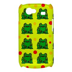 Green frogs Samsung Galaxy Nexus S i9020 Hardshell Case