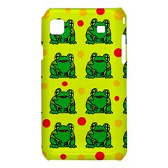 Green frogs Samsung Galaxy S i9008 Hardshell Case