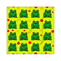 Green frogs Acrylic Tangram Puzzle (6  x 6 )