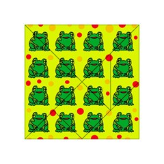 Green frogs Acrylic Tangram Puzzle (4  x 4 )