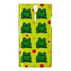 Green frogs Sony Xperia S