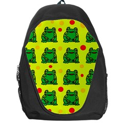 Green frogs Backpack Bag