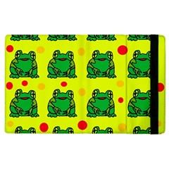 Green frogs Apple iPad 3/4 Flip Case