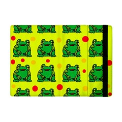Green frogs Apple iPad Mini Flip Case