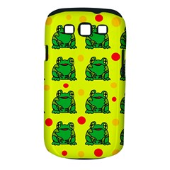 Green frogs Samsung Galaxy S III Classic Hardshell Case (PC+Silicone)