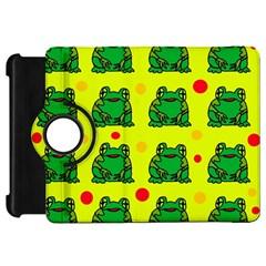 Green frogs Kindle Fire HD Flip 360 Case