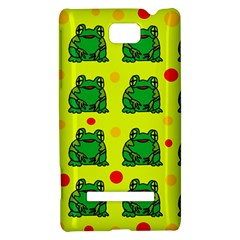 Green frogs HTC 8S Hardshell Case