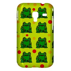 Green frogs Samsung Galaxy Ace Plus S7500 Hardshell Case