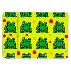 Green frogs Samsung Galaxy Tab 8.9  P7300 Flip Case