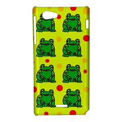 Green frogs Sony Xperia J