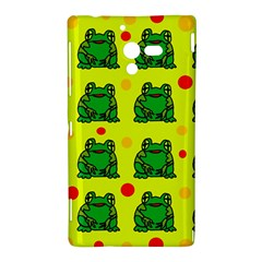 Green frogs Sony Xperia ZL (L35H)