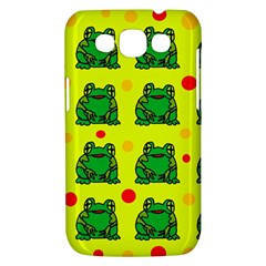 Green frogs Samsung Galaxy Win I8550 Hardshell Case