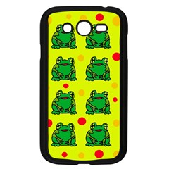 Green frogs Samsung Galaxy Grand DUOS I9082 Case (Black)