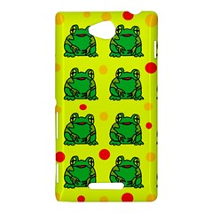 Green frogs Sony Xperia C (S39H)