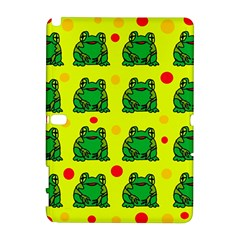 Green frogs Samsung Galaxy Note 10.1 (P600) Hardshell Case