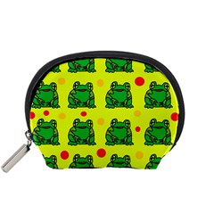 Green frogs Accessory Pouches (Small)