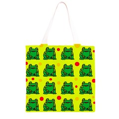 Green frogs Grocery Light Tote Bag
