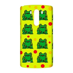 Green frogs LG G3 Back Case