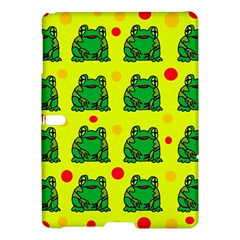 Green frogs Samsung Galaxy Tab S (10.5 ) Hardshell Case