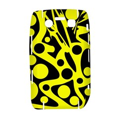 Black and Yellow abstract desing Bold 9700