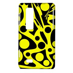 Black and Yellow abstract desing LG Optimus Thrill 4G P925