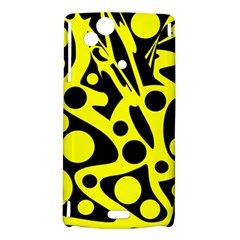 Black and Yellow abstract desing Sony Xperia Arc