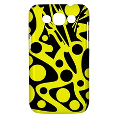Black and Yellow abstract desing Samsung Galaxy Win I8550 Hardshell Case