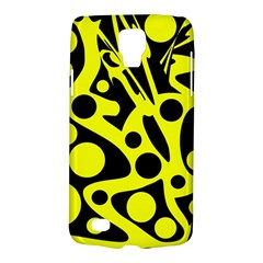 Black and Yellow abstract desing Galaxy S4 Active