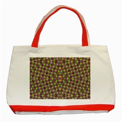 MOON PEOPLE Classic Tote Bag (Red)