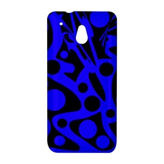Blue and black abstract decor HTC One Mini (601e) M4 Hardshell Case