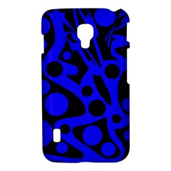 Blue and black abstract decor LG Optimus L7 II