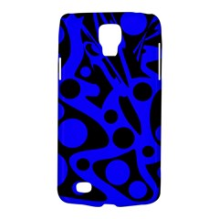 Blue and black abstract decor Galaxy S4 Active