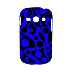 Blue and black abstract decor Samsung Galaxy S6810 Hardshell Case