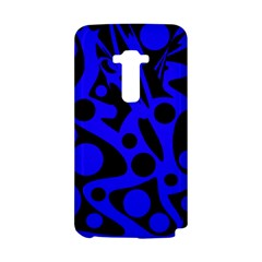 Blue and black abstract decor LG G Flex