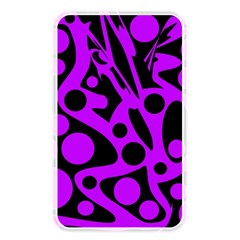 Purple and black abstract decor Memory Card Reader