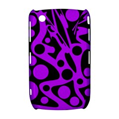 Purple and black abstract decor Curve 8520 9300
