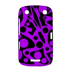 Purple and black abstract decor BlackBerry Curve 9380