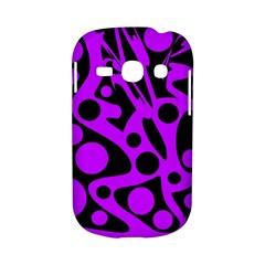 Purple and black abstract decor Samsung Galaxy S6810 Hardshell Case