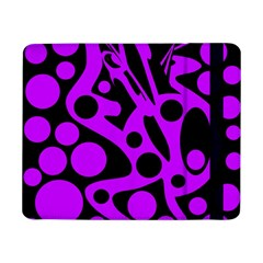Purple and black abstract decor Samsung Galaxy Tab Pro 8.4  Flip Case