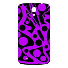 Purple and black abstract decor Samsung Galaxy Mega I9200 Hardshell Back Case