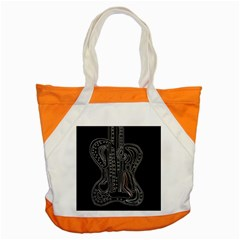 Decorative guitar Accent Tote Bag